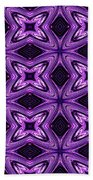 Lovely As A Purple Thought Beach Towel