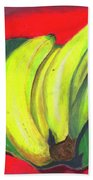Lovely Bunch Of Bananas Beach Towel