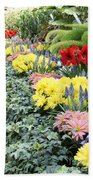 Lovely Flowers In Manito Park Conservatory Beach Towel