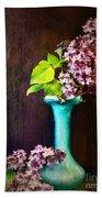 Lovely Lilacs Beach Towel
