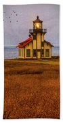 Lovely Point Cabrillo Light Station Beach Towel