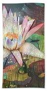 Lovely Waterlilies 2 Beach Towel