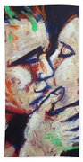 Lovers - Colours And Kisses Beach Towel