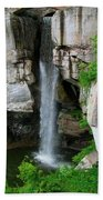 Lover's Leap Waterfall Beach Towel