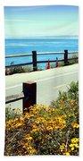 Lovers Point Walkway Beach Towel