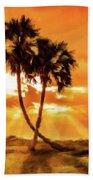 Loving Trees Beach Towel