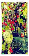 Low Hanging Fruit Beach Towel