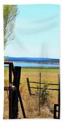 Low Land By The Lake Beach Towel
