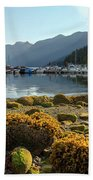 Low Tide At Horseshoe Bay Canada Beach Towel