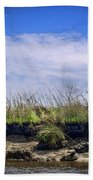Low Tide II Beach Towel