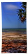 Low Tide Time Beach Towel