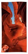 Lower Antelope Slot Canyon Beach Towel