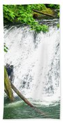 Lower Falls 4 Beach Towel