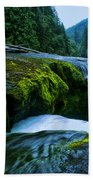 Lower Lewis Falls 1 Beach Towel