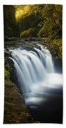 Lower Punchbowl Falls 1 Beach Towel