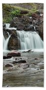 Lower Red Rocks Falls Beach Towel by Jemmy Archer