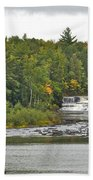 Lower Tahquamenon Falls 4 Beach Towel