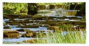 Lower Tahquamenon Falls 6128 Beach Towel