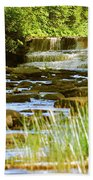 Lower Tahquamenon Falls 6128 Beach Towel