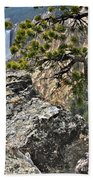 Lower Yellowstone Falls Beach Towel