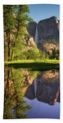 Lower Yosemite Morning Beach Towel