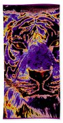 Lsu Tiger Beach Towel