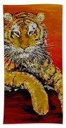 Lsu Tiger Beach Towel