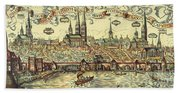 Lubeck, Germany Beach Towel