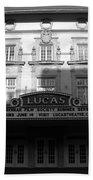 Lucas Movie House 1921 Beach Towel
