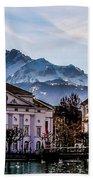 Lucerne's Architecture Beach Towel