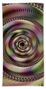 Lucid Hypnosis Abstract Wall Art Beach Towel