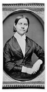 Lucy Stone, American Abolitionist Beach Towel