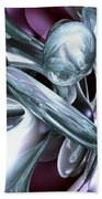 Lullaby Dreams Abstract Beach Towel