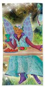 Lulu Beth Twinkle At The Banquet Beach Towel