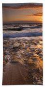 Lumaha'i Dawn Beach Towel by Mike  Dawson