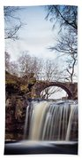 Lumb Falls Panoramic Beach Towel