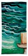 Luminescence Beach Towel