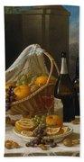 Luncheon Still Life, At And By John F. Francis Beach Sheet