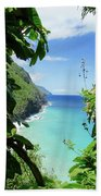 Lush Kauai Beach Towel