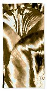 Lustrous Golden Tulip Beach Towel