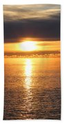 Lutsen Shore Sunrise Two Beach Towel
