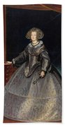 Luycks, Frans Amberes, 1604 - Viena, 1668 Maria Of Austria, Queen Of Hungary Ca. 1635 Beach Towel