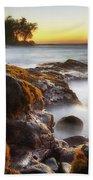 Lyman's Sunset Beach Towel