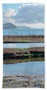 Lyme Regis Seascape 2 - October Beach Towel
