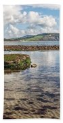 Lyme Regis Seascape 3 - October Beach Towel