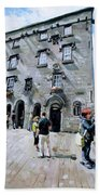 Lynches Castle Galway City Beach Towel