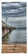 Lynnhaven Fishing Pier, Ocean Side Beach Towel