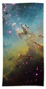 M16 The Eagle Nebula Beach Towel