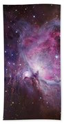 M42, The Orion Nebula Top, And Ngc Beach Towel by Robert Gendler