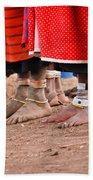 Maasai Feet Beach Towel